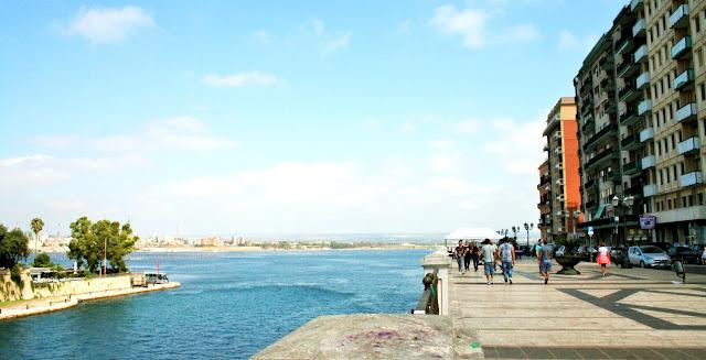 mare, mar Piccolo, Taranto, lungomare Taranto, palazzi