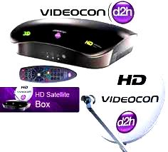 Pc satellite tv Videocon d2h released new videocon d2h hd box with 1000GB Hard Disk