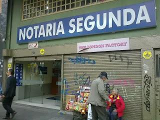 Notaria 2 Segunda de Bogota