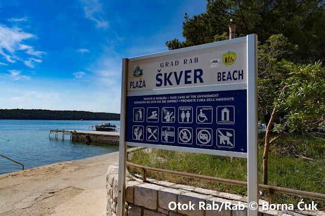 Plaža Škver Rab