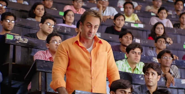 Ranbir Kapoor as Sanjay Dutt in Sanju