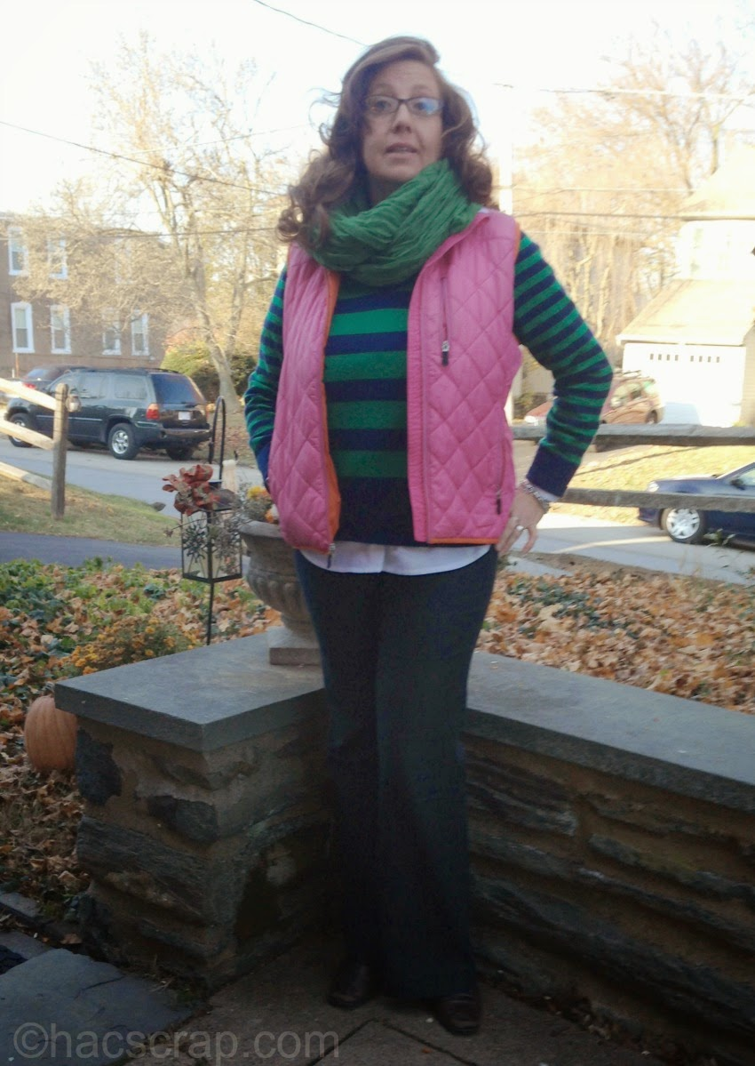How To Style a Down Vest MidLife Mom Style Ideas