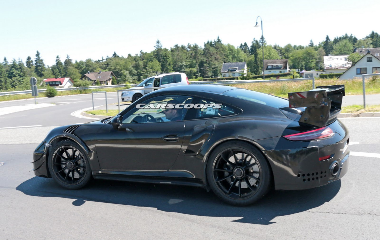 this is likely porsche s new 911 gt2 rs with a turbo six carscoops. Black Bedroom Furniture Sets. Home Design Ideas