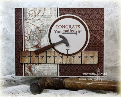 Our Daily Bread Designs Stamp sets: World's Greatest, ODBD Custom Dies:  Workshop Tools, Circle Ornaments, Matting Circles, ODBD Vintage Ephemera Paper Collection