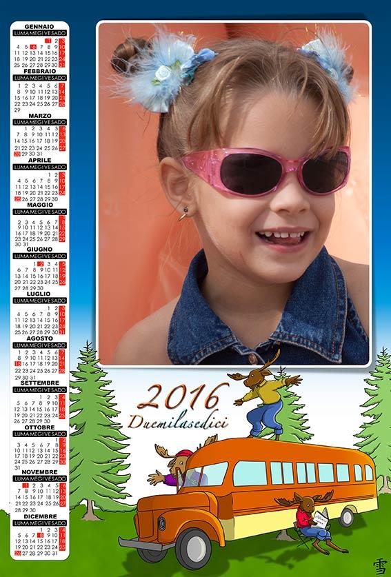 Calendario Con Foto Personali.Risorse Per Photoshop Anteprima Calendari 2016