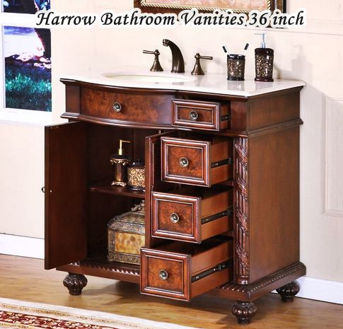 Bathroom Vanities Harrow 36 Inch