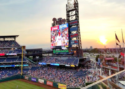 Phillies Baseball Game in Philadelphia Pennsylvania