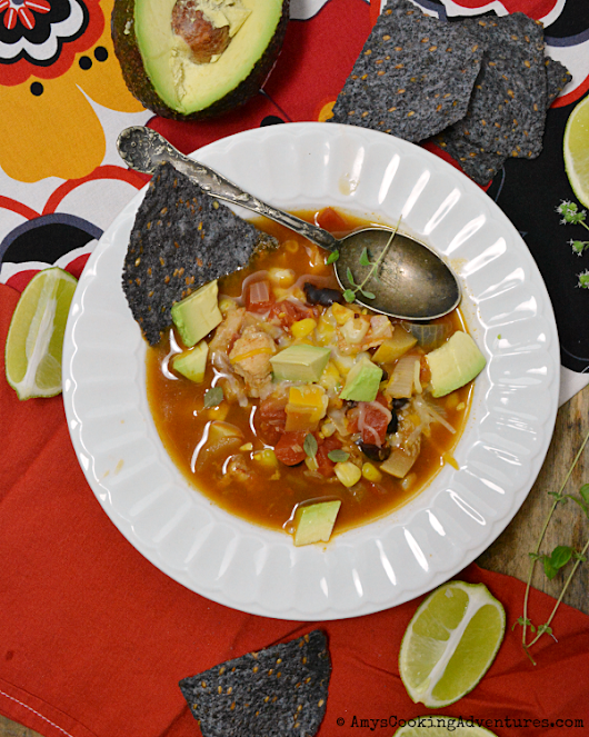 Loaded Nacho Soup #SoupSwappers