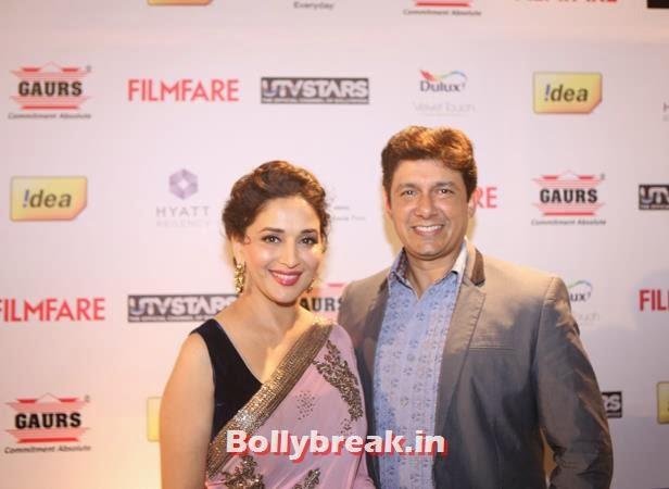 , Filmfare Awards Pre Party - Madhuri, Deepika, Huma