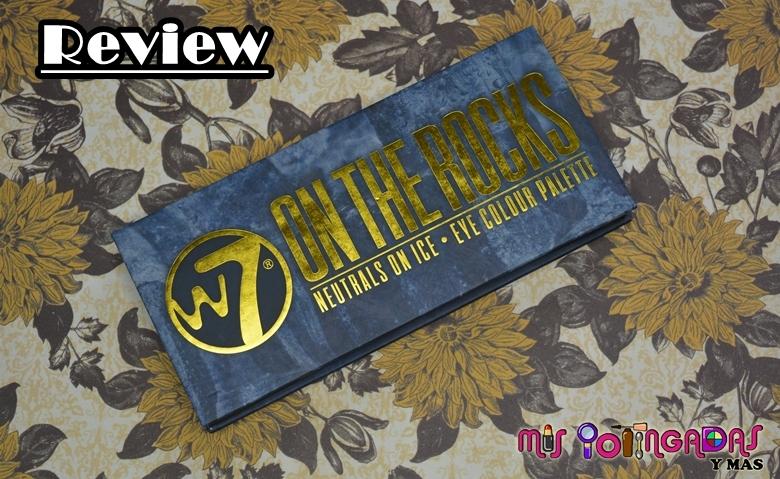 Review   Paleta On the rocks de W7 (Clon de Subculture de Anastasia Beverlly Hills)