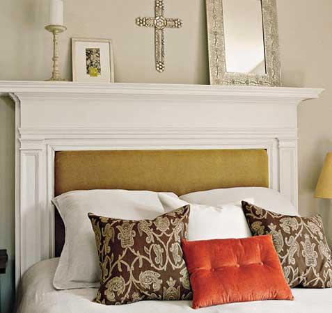 Mantels Can Make Absolutely Gorgeous Headboards And Depending On The Size Of Your Mantel They Tend To Fit Most Full Twin Sized Beds
