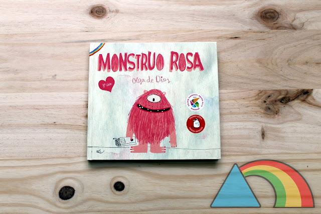 Portada del cuento Monstruo Rosa