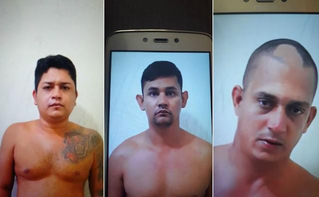 Polícia prende trio que planejava ataques a agentes penitenciários em Cruzeiro do Sul