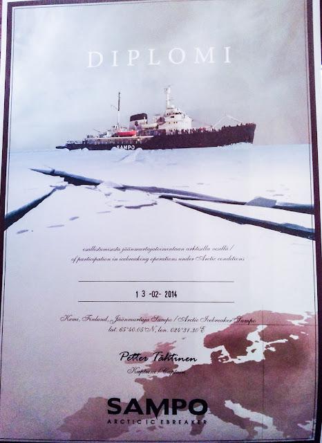 sampo icebreaker diploma