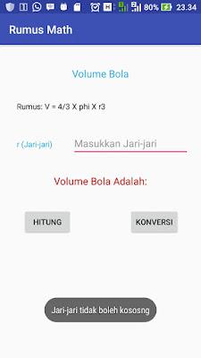 Cara Membuat Aplikasi Volume Bola pada Android Studio