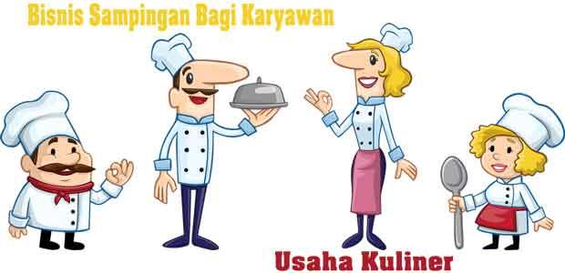 bisnis sampingan untuk karyawan bidang kuliner