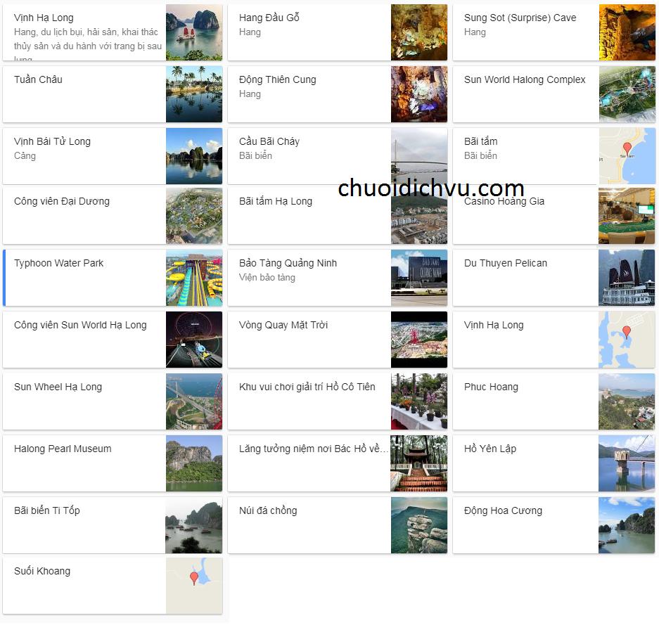 Điểm du lịch Hạ Long