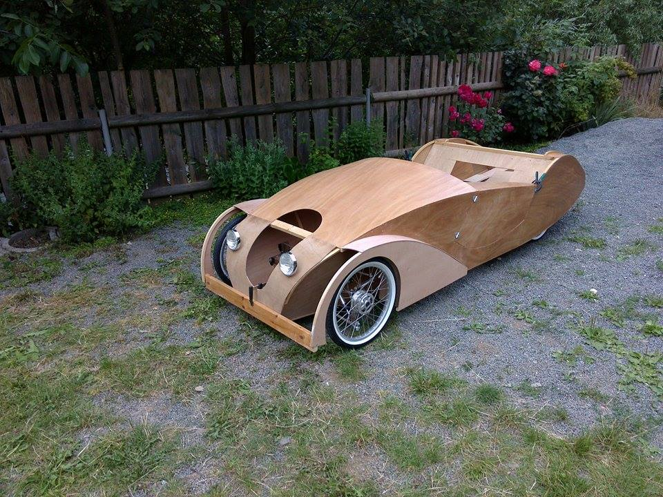 Build an adult pedal car