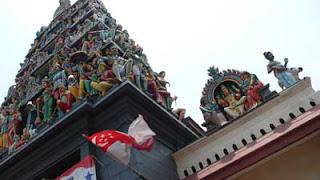 シンガポールのヒンドゥー寺院