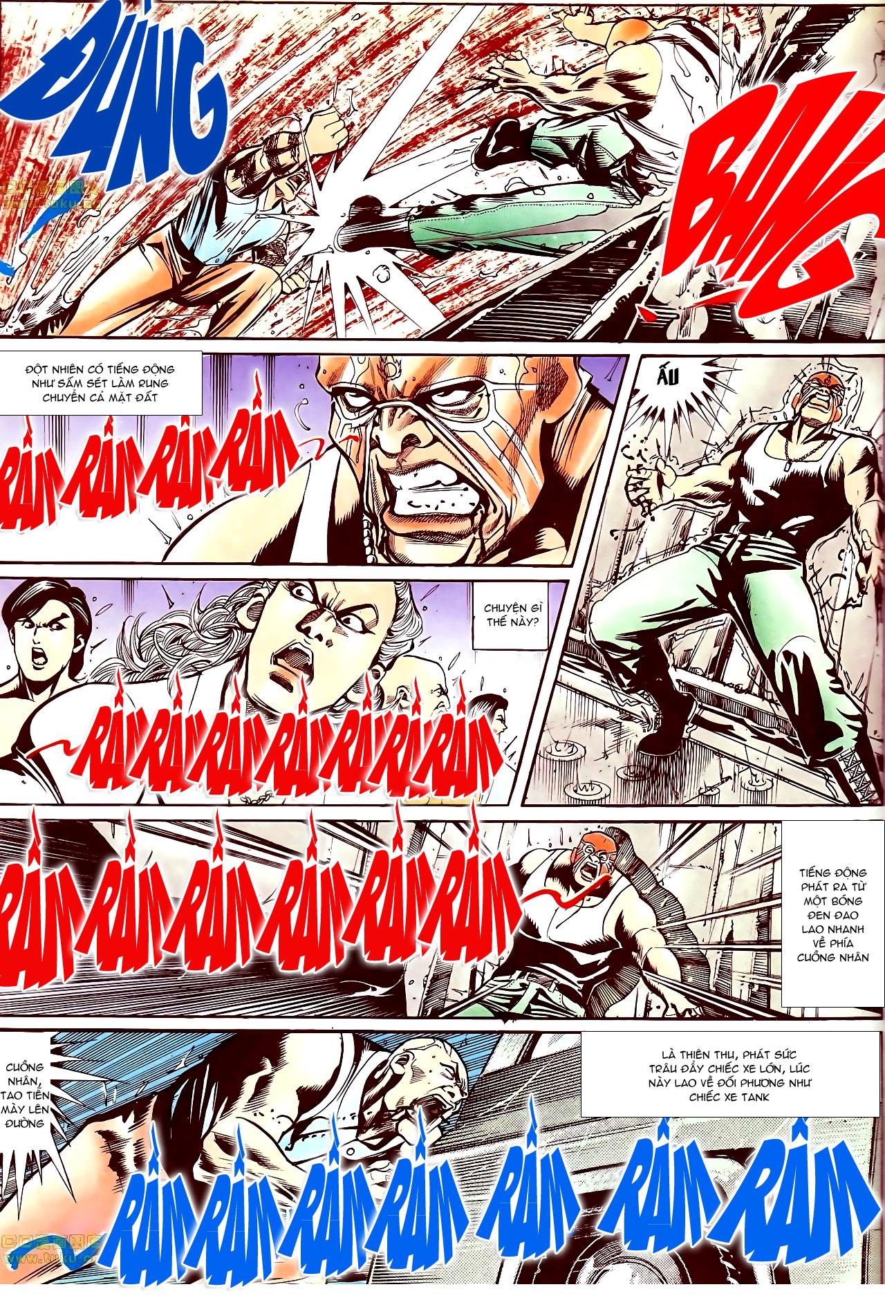 Người Trong Giang Hồ chapter 145: máu thịt tung tóe trang 18