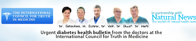 Diabetes for International doctors council for truth medicine in online treatment