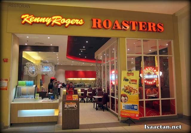 Kenny Rogers ROASTERS Tropicana City Mall.
