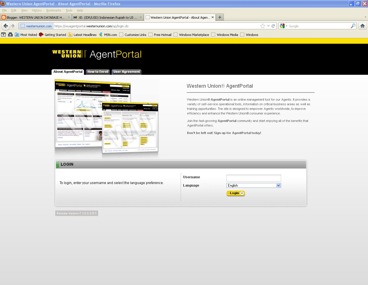 WESTERN UNION HACKING TOOLS INTRODUCING WESTERN UNION AGENT
