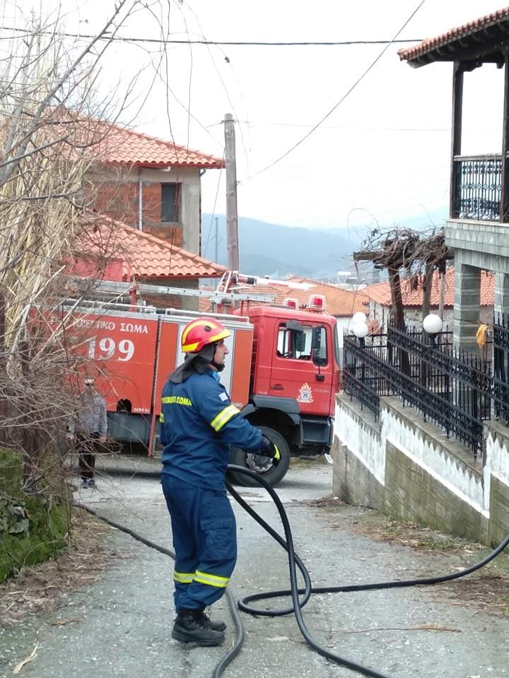 Ευχαριστήρια επιστολή προς την Πυροσβεστική Υπηρεσία