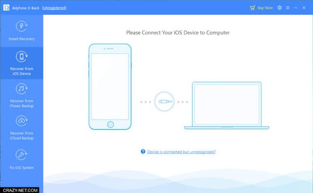 طريقة استرجاع الصور و الملفات من الايفون باستخدام iMyFone D-back