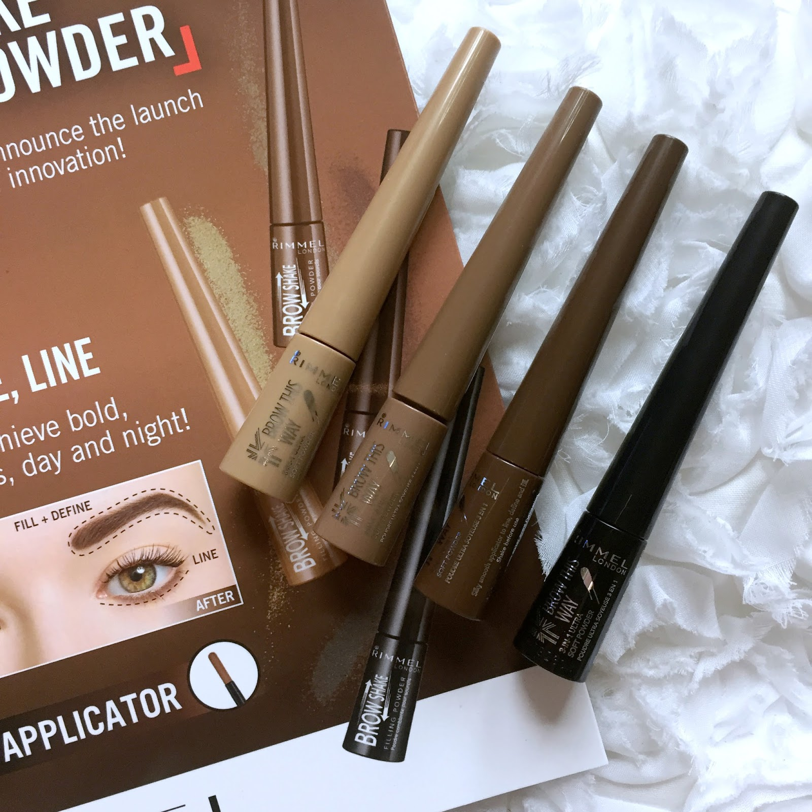 Rimmel Brow This Way Brow Shake Filling Powder New Beauty Launch