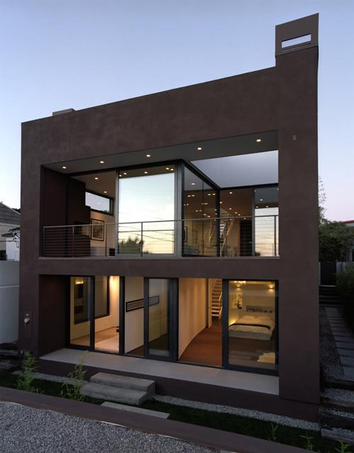 Fachadas y frentes de casas minimalistas ii minimalistas for Casa minimalistas