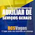 NOVA IPOJUCA - VAGAS PARA AUXILIAR DE SERVIÇOS GERAIS