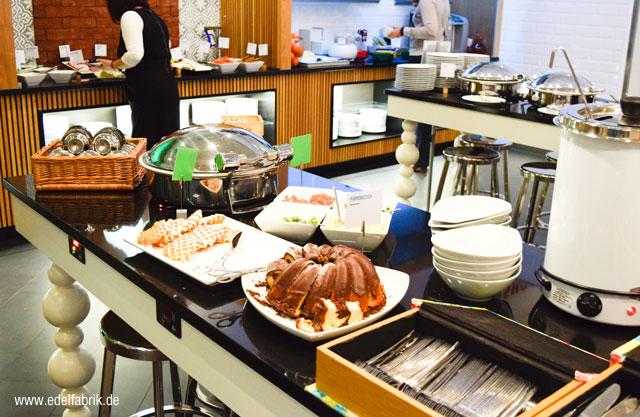 Frühstückszeit im Scandic Hotel Berlin Kurfürstendamm