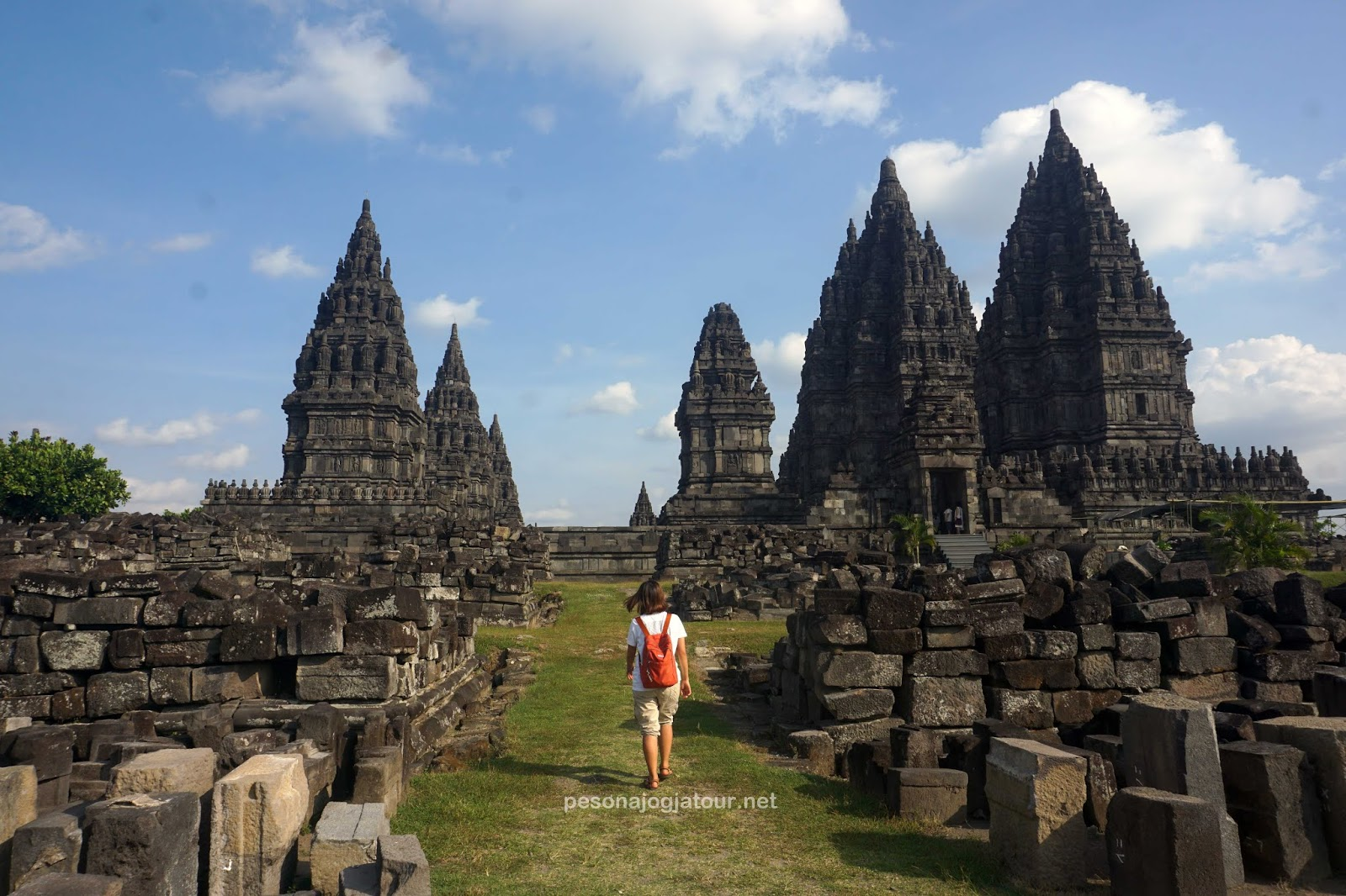 Spot foto Prambanan