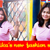 Woshika Rathnayak in fashionable short dress