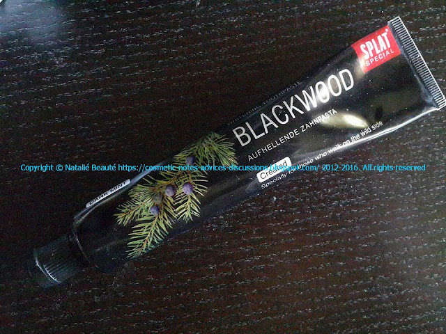 BLACKWOOD Whitening Toothpaste whitening white teeth Natalie Beaute review and photo