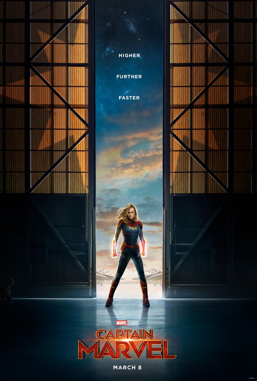 Poster oficial de Capitana Marvel