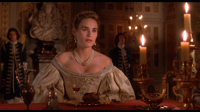 movie The Man in the Iron Mask - Judith Godreche is Christine