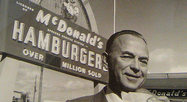 Ray Kroc, fundador de McDonalds