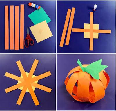Pumpkin craft, pumpkin storytime