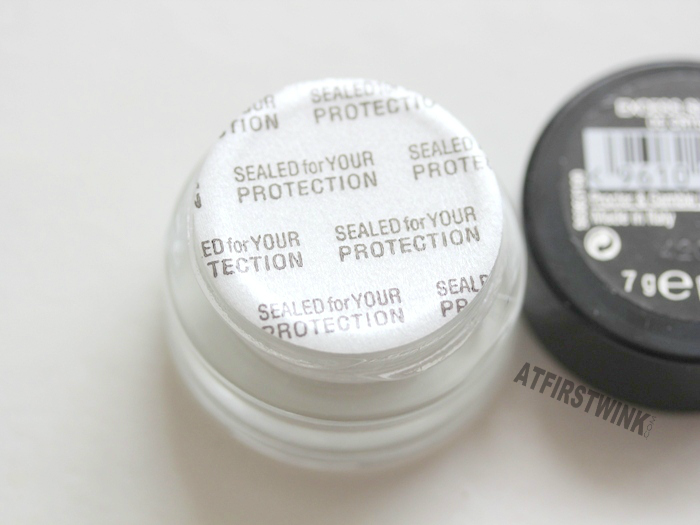 Max Factor Excess Shimmer Eye Shadows protective seal