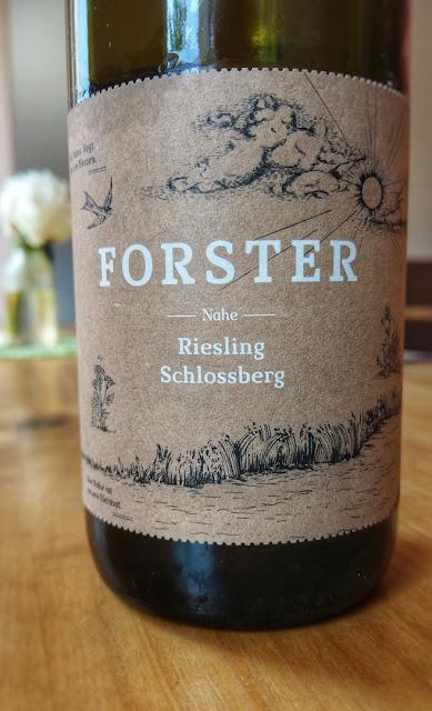 Riesling Schlossberg vom Weingut Forster an der Nahe