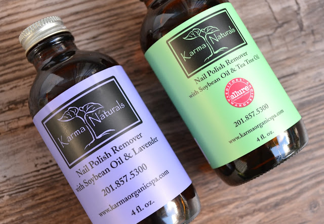 Karma Organic Soybean Acetone Free Nail Polish Remover Review