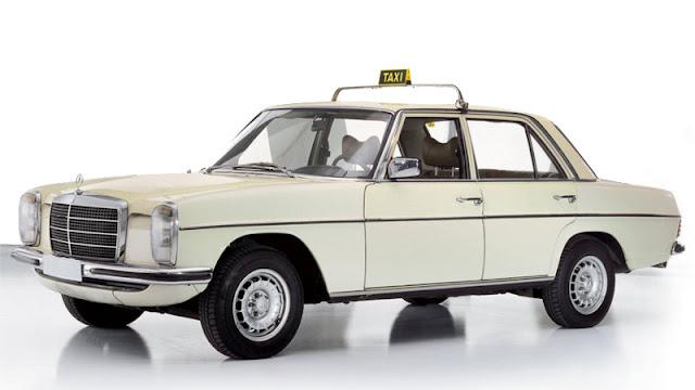 Mercedes-Benz mini W114 240d diesel taksi