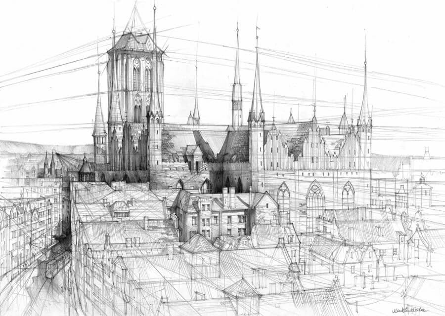 09-Galeria-Gdańsk-Gdańsk-Architectural-Drawings-by-Students-www-designstack-co