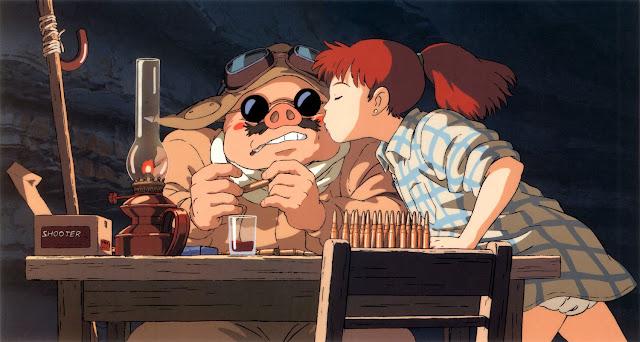 Porco Rosso: O Último Herói Romântico / Kurenai no buta / The Scarlet Pig (FILME COMPLETO)