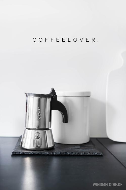 Bialetti Kaffeemaschine Kaffeedose weiß keramik