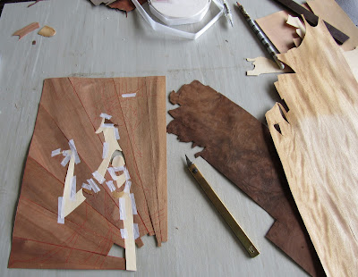 marquetry wooden vogue cover