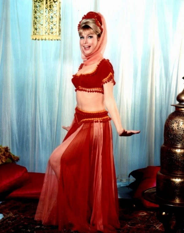 Besides I DREAM OF JEANNIE, Eden starred in several films like FLAMING STAR  with Elvis, VOYAGE TO THE BOTTOM OF THE SEA with Walter Pidgeon, FIVE WEEKS  IN A ...