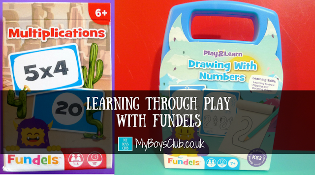 educational games review for fundels multiplications and drawing with numbers by cartamundi